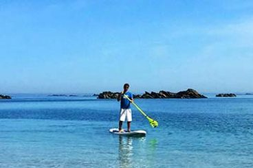Stand Up Paddle à Chausey