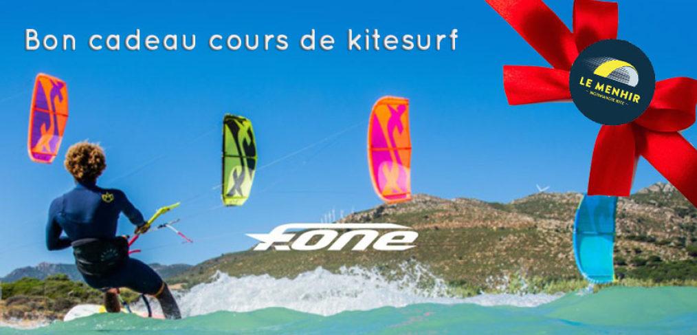 Bon cadeau cours de kitesurf