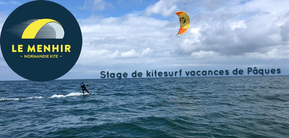 Stage de kitesurf pour les vacances de Pâques