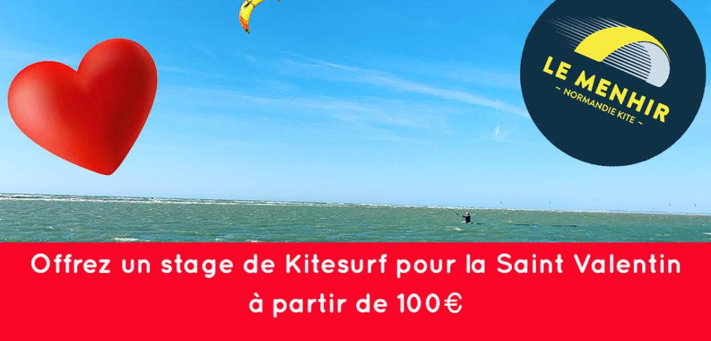 Cours de kitesurf pour la saint valentin